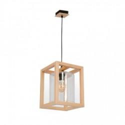 pendul lemn cu sticla