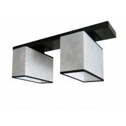 Silver 21 plafoniera 2 becuri