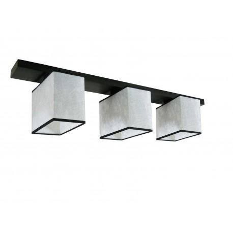 Silver 3 plafoniera 3 becuri
