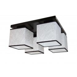 Silver 4  plafoniera 4 becuri